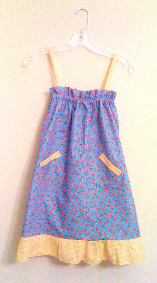 {strawberry sundress, McCall's Pattern #5611}