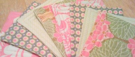 {quilted coasters}