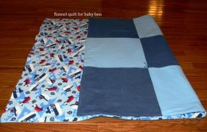 baby ben sailboat quilt