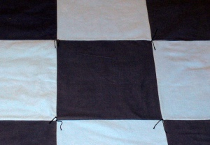 12-inch squares