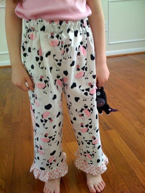 darling little pink polka dot ruffles