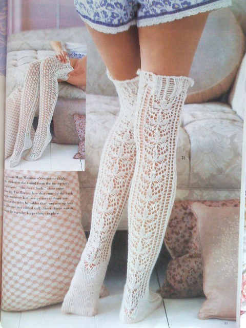 {Lace Stockings, by Mari }