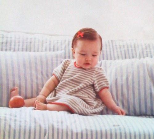 {Striped Baby Dess}