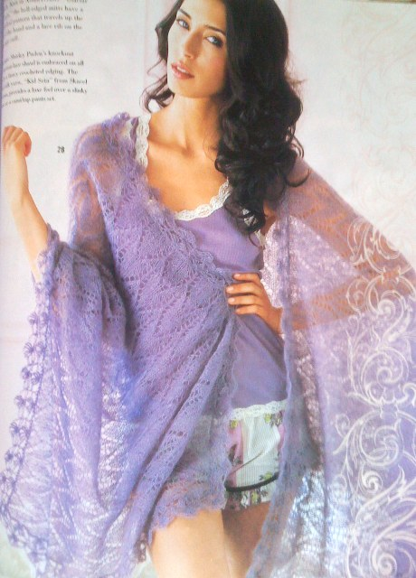 {Lace Shawl, by Shirley Paden}