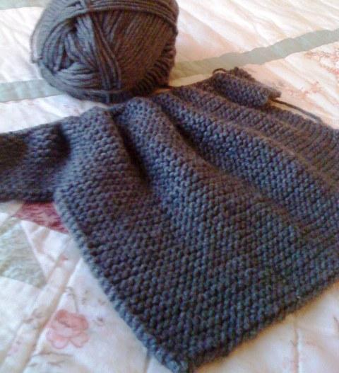 {Garter-stitch Wrap Top} by Erika Knight