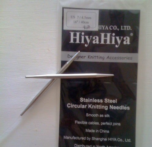 {my new favorite needles}