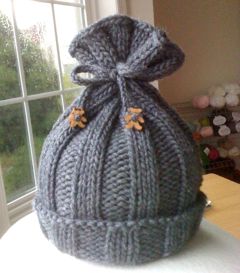 {a warm, cozy hat for Baby T}