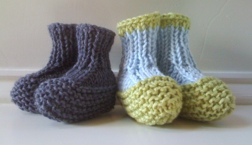 {my new favorite bootie pattern}
