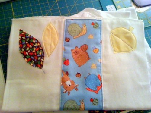 little critters burp cloth