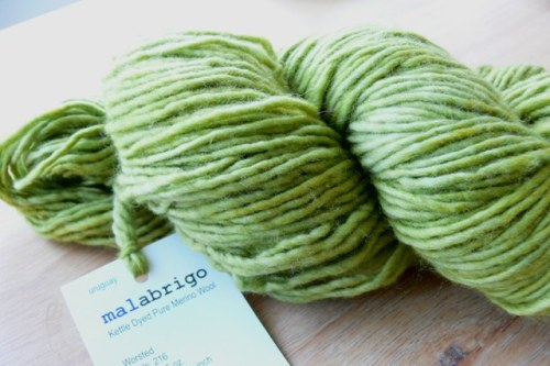 "{Malabrigo Worsted, a.k.a - ""crack for knitters""}"