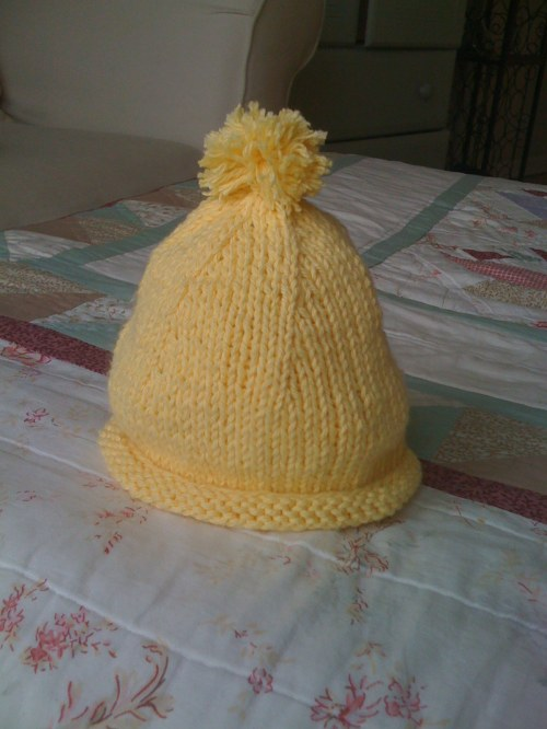 {Sunshine Baby Hat}