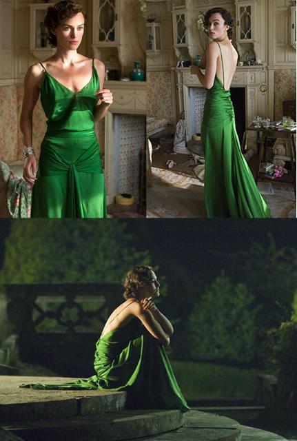 Les plus belles robes vues à l'écran Keira