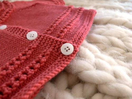 401183419 knit baby sweater